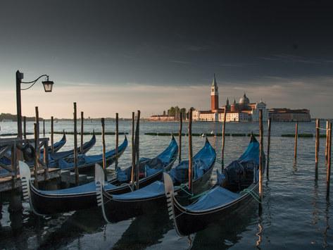 Gondola Jetty, St Mark's Square, Venice, Italy