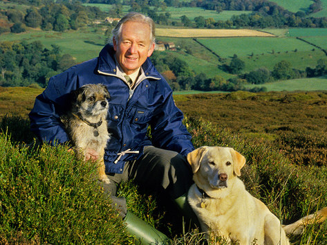 Alf Wight (James Herriot) + Polly & Bodie