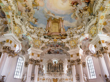 Pilgrimage Church of the Scourged Saviour at Wies, Germany