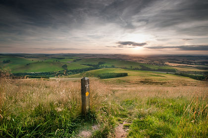 Wideopen Hill, St Cuthbert's Way, Englan
