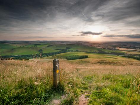 Wideopen Hill, St Cuthbert's Way, England