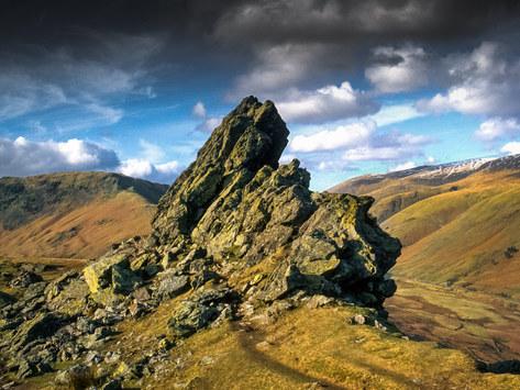 Helm Crag Summit, Grasmere, Cumbria