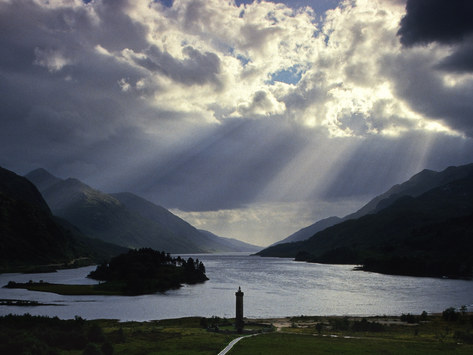 Glenfinnan Monument & Loch Shiel, Highlands