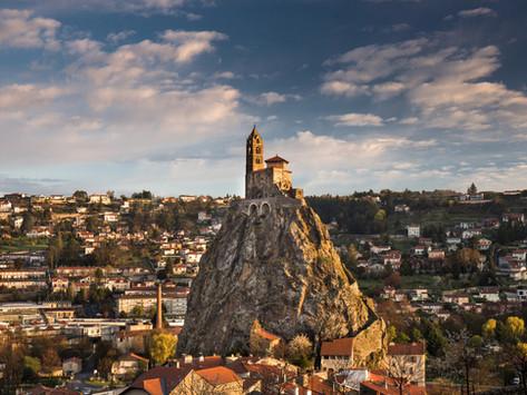 Chapel of St-Michel d'Aiguilhe, Le Puy-en-Velay, France