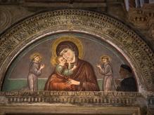 13th C fresco, Basilica of St Anthony of Padua, Italy