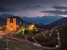 Sanctuary of Our Lady of La Salette, Rhone-Alps, France