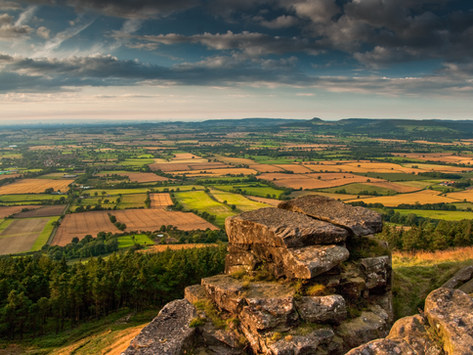 The Cleveland Plain from North Yorkshire Moors