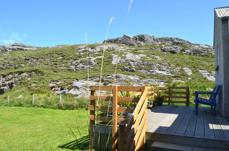 The decking area