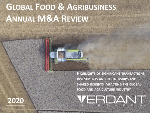 2020 Global Food & Agribusiness Annual M&A Review