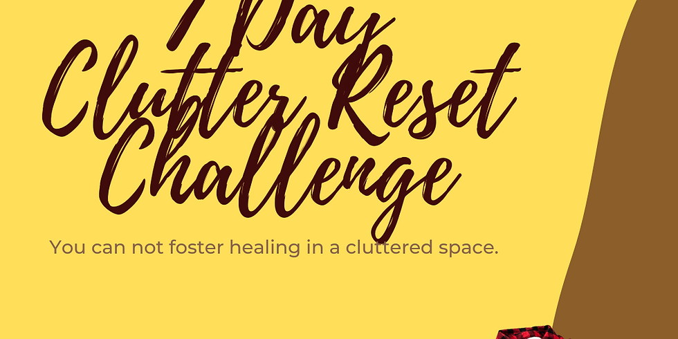 7 Day Clutter Reset Challenge