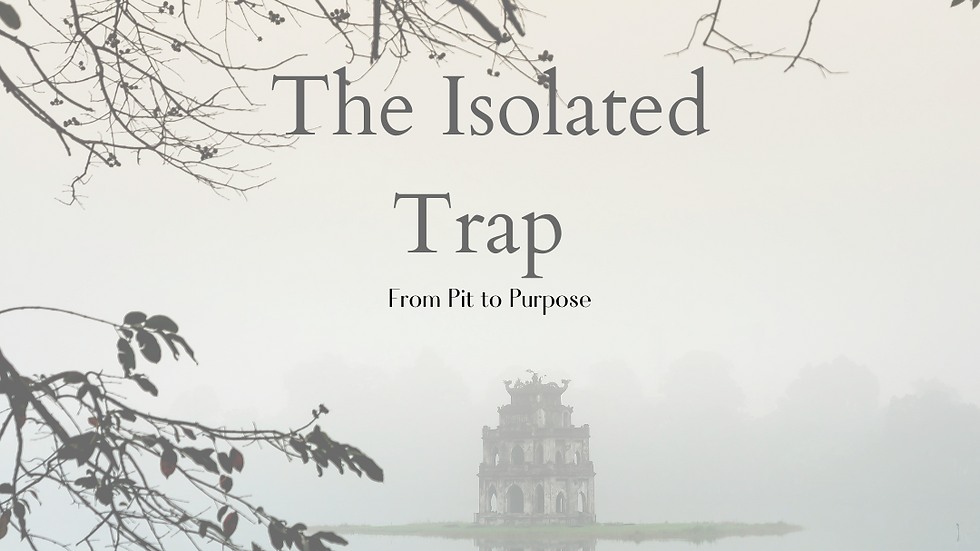 The Isolated Trap