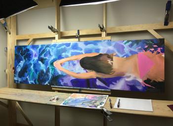 Progress on a commission
