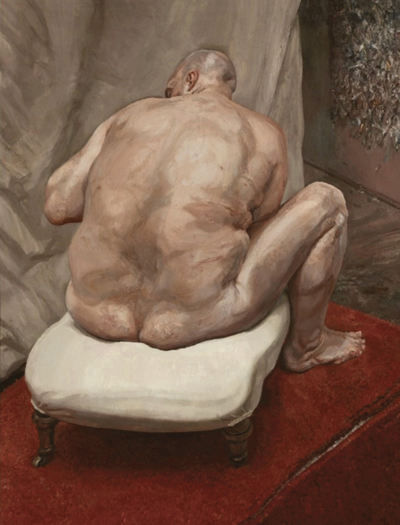Lucian Freud's Naked Man painting
