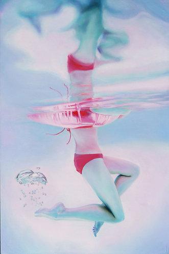 Pink Tube Curtsy