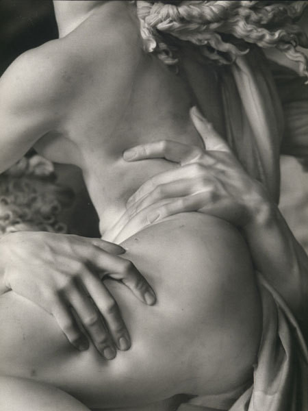 Bernini Prosperina sculpture detail
