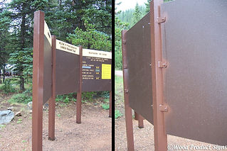 Metal posts