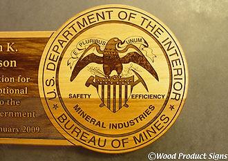 Dedication and retirement plaques