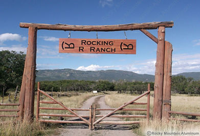 Ranch Entrance Signs