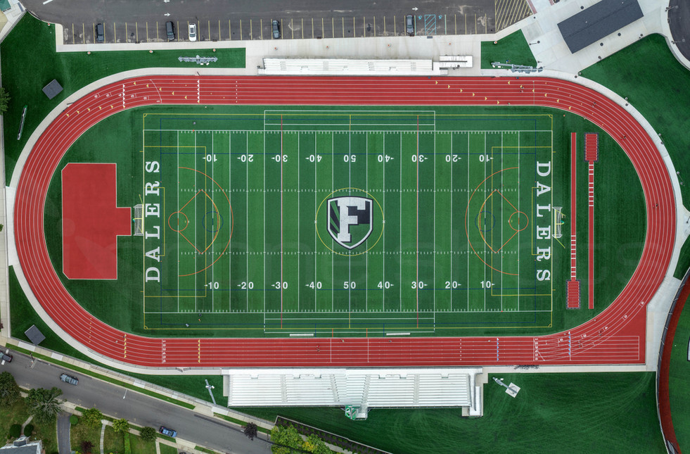 New Synthetic Turf Field