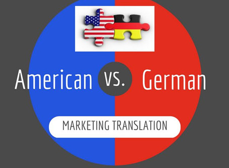 The many aspects of marketing translation: A German-American case study