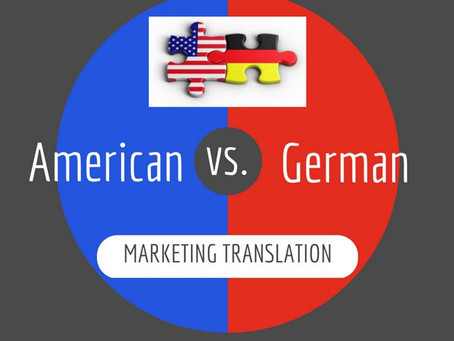 The many aspects of marketing translation: A German-American case study