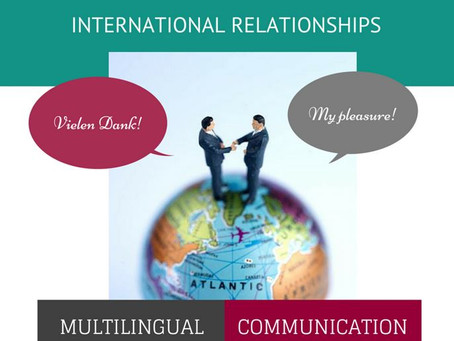 International relationships as an investment