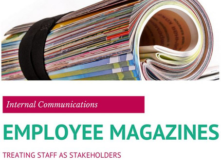Employee magazines – Treating staff as stakeholders