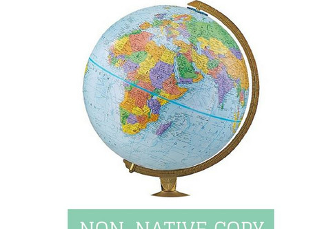 Editing of non-native copy