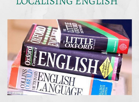 Localising English (guest post by Andrew Bell)
