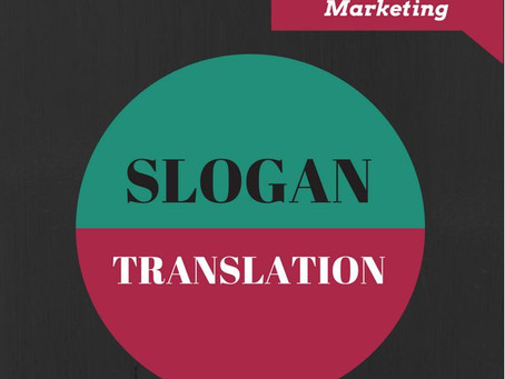 Slogan translation – A matter for experts