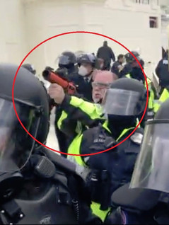 🎥 STUNNING: Capitol Police Fired Exploding Flash Grenades Into Peaceful Crowd on January 6th