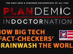 """🎥 How Big Tech """"Fact-Checkers"""" Brainwash The World: PLANDemic InDoctorNation Documentary [excerpt]"""