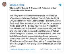 Trump Teases Reinstatement in New Press Statement!