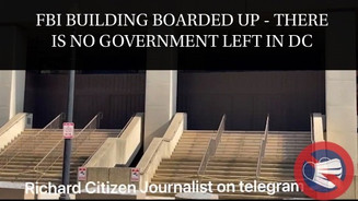 🎥 Citizen Journalist Reveals FBI, Many DC Government Buildings Are Deserted