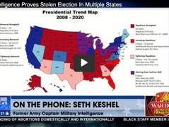 🎥 Bannon's War Room: Military Intelligence Proves Election Fraud in Multiple States