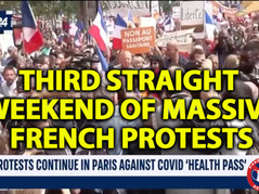 🎥 Millions Take to Streets of France Again (7/31) - THE MEDIA WON'T COVER IT!!!!