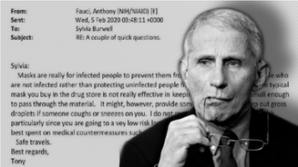 SMOKING GUN: Emails Show Fauci Knew of Hydroxychloroquine COVID Success, But Lied to the Public 🎥