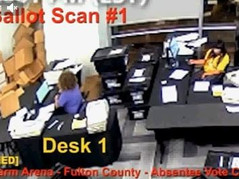 Hard Evidence Presented: Duplicate Ballots were Counted in Fulton County Georgia in 2020 Election