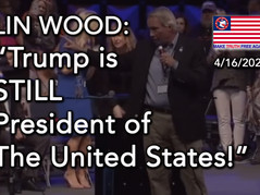 """📽 LIN WOOD DROPS A BOMB: """"Trump is STILL President of The United States!"""""""