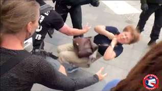 🎥 Women and Children BEATEN During Anti-COVID Protest  in Berlin: 600 Arrests,1 Dead