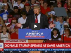 """🎥 Trump: """"I Wonder What I Will be Proved Right About Next, Perhaps it Will Be The Election?"""""""