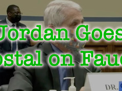 📽 AMAZING! Fauci GRILLED by Jordan - Loses His Cool When Pressed On Truth & Facts