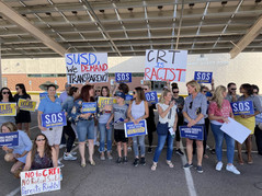 SCHOOL PARENTS HOLD MASS RALLY in Scottsdale, Arizona - The School Board Hides in Fear