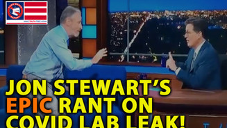 AMAZING 🎥 Jon Stewart Calls Out COVID Leak in EPIC Daily Show Rant