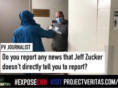CNN Politics Editor Confronted by Project Veritas