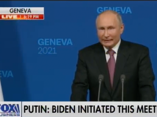 WOW! 🎥 Putin Continues to RAIL on US Media, BLM, False Narratives of Capitol Hill Protests