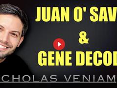 📺 What I'm Watching: Juan O Savin, Gene Decode With Nicholas Veniamin