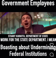 """📺 Flashback: Project Veritas Exposes Deep State: """"impossible to fire a federal employee"""""""