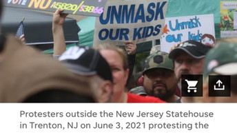 📷 Thousands in New Jersey Descend on Trenton to Protest Masks, Overreach, Murphy Emergency Powers