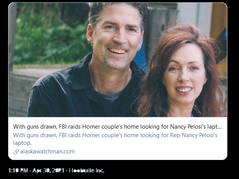📷 FBI Misidentifies Pic, Raids Wrong Couple's Home: They Weren't At The Capitol Protest!
